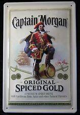 Captain Morgan chapa escudo ron original Spiced Gold