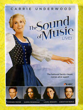 The Sound of Music Live! ~ New DVD Video ~ Carrie Underwood NBC Musical Show
