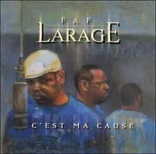 FAF LARAGE C'est Ma Cause (CD 1999) 16 Tracks French Rap Hip Hop Made in Canada