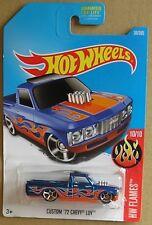 Hot Wheels 2017 36 of 365 Custom '72 Chevy LUV Hotwheels HW Flames - Carded