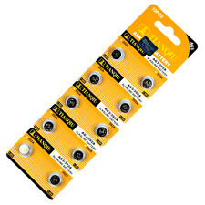 10 PCS LR41 AG3 392 LR736 Alkaline Battery 1.55V Button Cell for Watch Remote