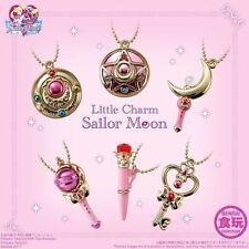 BANDAI Little Charm Sailor Moon 4 Keychain Illusionary Silver Crystal Collection