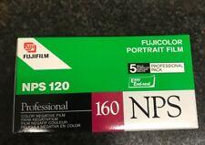 5x Fujicolor NPS Professional 160  120 film  Professional kodak Fuji Lomo