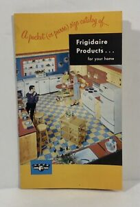 Vintage Frigidaire Appliance Color Brochure 6.5 Inch Mid Century 1952