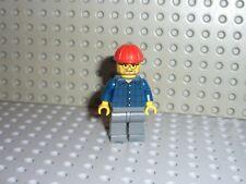 Minifig lego figurine chef de chantier pour set 7632