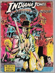 Indiana Jones and the Temple Of Doom  - Federal Comics 1984 / Australian Edition