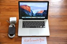"Apple MacBook Pro 15"" i7 Quad Turbo 3.3GHz 8GB 750GB GDDR5 DVD Latest Upgradable"