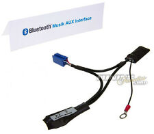 BT Bluetooth adaptador mp3 AUX CD cambiador 8-pin audi radio Navi plus RNS-d #5961