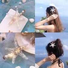 Wedding Beach Holiday Hair Clips Hair Accessories Barrettes Starfish Hairpin