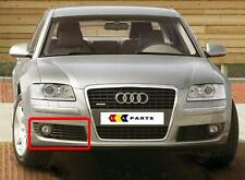 AUDI A8 4E 2004-2007 NEW GENUINE BUMPER O/S RIGHT FOG LIGHT GRILL 4E0807682AC