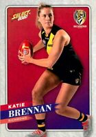 ✺New✺ 2020 RICHMOND TIGERS AFLW Card KATIE BRENNAN Footy Stars