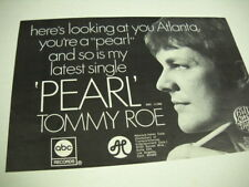 Tommy Roe Here's Looking At You Atlanta. Rare vintage promo trade advert