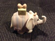$ Precious Moments Happy Birtyday Jesus 530492 Collectible Elephant