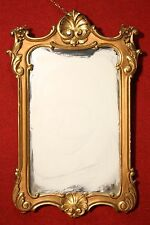 Mirror Italian Wood Golden Furniture Antique Style 900 Frame Mirror