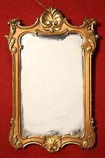 Specchiera italiana legno dorato stile antico 900 mobile cornice specchio