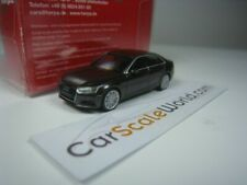 AUDI A4 B9 1/87 HERPA (BROWN METALLIC)