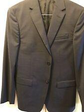 New Authentic Z Zegna Men Wool Suit Jacket Blazer Sport Coat Navy Blue 38 R $990