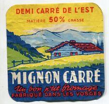 FROMAGE DEMI CARRE DE L EST  MIGNON CARRE VOSGES