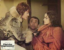 ANNIE GIRARDOT IL FAUT VIVRE DANGEREUSEMENT 1975 PHOTO D'EXPLOITATION #8