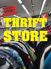 """THRIFT STORE 18""""x24"""" BUSINESS STORE RETAIL SIGNS"""