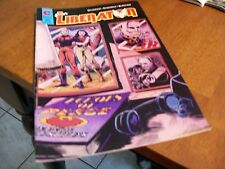 THE LIBERATOR #4 ETERNITY COMIC 1988