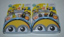 DESPICABLE ME MINEEZ SERIES 1 THREE PACK TWO SETS FREE SHIPPING !!