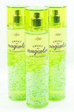 3 Bath & Body Works SWEET MAGNOLIA & CLEMENTINE Fragrance Body Mist / Spray