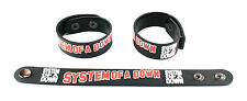 System of a Down NEW! Rubber Bracelet Wristband Free Shipping Chop Suey! aa182