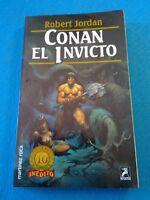 Fantasía -  Conan el invicto. Robert Jordan - LB691