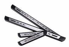 Range Rover Evoque Stainless Steel Door Sill Scuff Protractor Plates for 2011-18