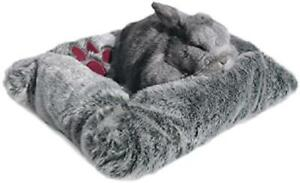 Plush Pet Bed Small Fluffy Beds For Rabbits Guinea Pigs And Ferrets 43cm x 33cm