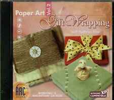 Paper Art Volume 2 Gift Wrapping PC, CD, Jewel Case, Basic and advanced, Shapes