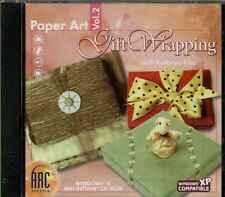 Papel art volumen 2 Regalo Envoltura PC, CD, plástico Funda, Basico Y AVANZADO,