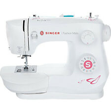 Singer 3333 Fashion Mate Free-Arm 23-Stitch Sewing Machine in White - 230131112