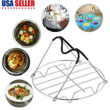 Steamer Rack Trivet with Handles for Instant Pot Accessories Pressure Cooker US