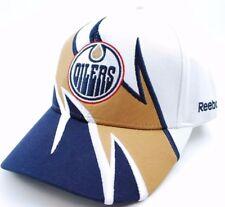 Edmonton Oilers Reebok NHL Hockey Slash Adjustable Cap Hat  OSFM