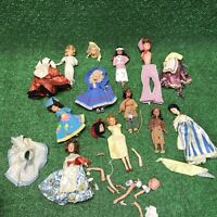 Lot Of FW Woolworth And Dollikin Dolls Parts As Is Fast Free Shipping