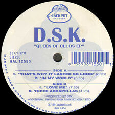 DSK - Queen Of Clubs EP - Jack Pot