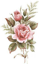 VinTaGe IMaGe XL AmeRiCaN BeauTy RoSe ShaBby WaTerSLiDe DeCALs ~FurNiTuRe SiZe~