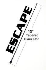 "15"" Short Black Antenna Mast - FITS: 2000-2012 FORD ESCAPE"