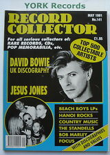 RECORD COLLECTOR MAGAZINE - Issue 141 - May 1991 - David Bowie / Jesus Jones