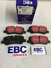 Land Rover Discovery 3 y 4 Pastilla Freno Trasera Juego EBC SFP500140K/BA2213
