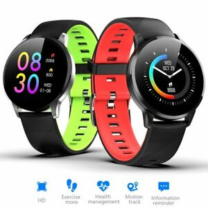 Women Men Smart Watch Heart Rate Sport Health Bracelet Wristband For iOS Android