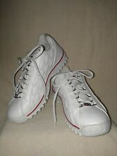 Vintage Women's FILA Athletic Shoes White with Red Trim 51X744LX-123 Size 8.5