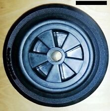 Vollgummi Rad mit Kunststoff-Felge 200 mm Gleitlager Tragkraft 200 kg