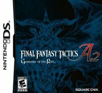 Final Fantasy Tactics A2: Grimoire of the Rift NDS Nintendo DS Brand New Sealed