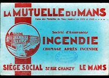 """PONT-sur-YONNE (89) ASSURANCE """"MUTUELLE DU MANS"""" Agence """"G. LEHUIN"""""""
