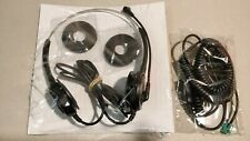 Polaris SW20N Soundpro Wideband Noise Cancelling Binaural Headset with Cord