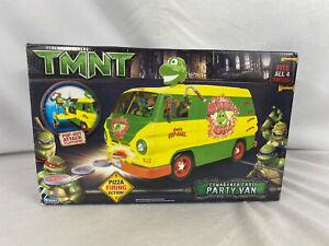 2007 Playmates TMNT COWABUNGA CARL PARTY VAN *NEW* Ninja Turtles open box