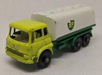Vintage Lesney Matchbox BP Petrol Tanker No. 25